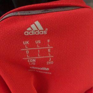 adidas Tops - Adidas Raw Cut Cropped T-shirt
